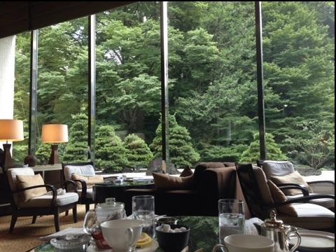 シェラトン都ホテル東京 ラウンジバンブー