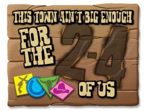 この町は2-4人のボクらにも狭すぎる