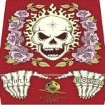 髑髏と薔薇 赤箱