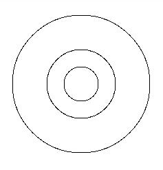 図1.3: 中心は同じ