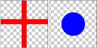 図1.1: SRCに指定する画像(左)とDSTに指定する画像(右)