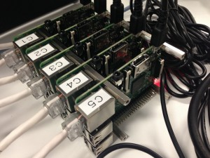 Raspberry Pi 2クラスタ