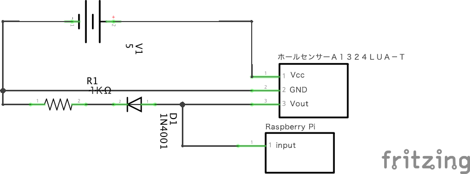 センサーの回路図