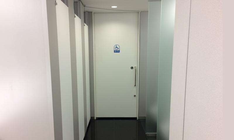 トイレ満室