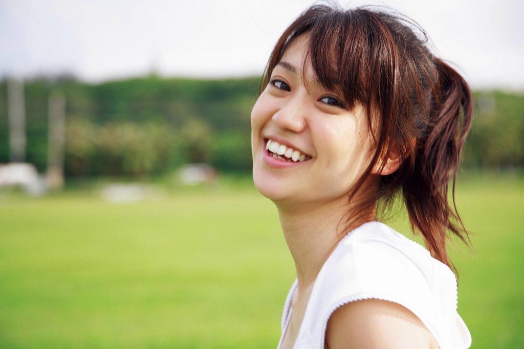 ポニーテール姿の大島優子