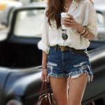今はかないと損。大人女子にぴったりな「ショートパンツ」のモテコーデのサムネイル画像