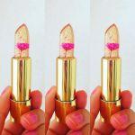 話題沸騰中!一輪の花が入ったKAILIJUMEIのリップがかわいいのサムネイル画像