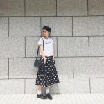 今年の夏はtシャツが来る?可愛いtシャツコーデで夏を乗り切ろう!のサムネイル画像