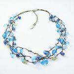 青を使うならネックレスがオススメ!コーデの仕上げに、お守りに…のサムネイル画像