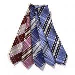 おしゃれなチェック柄のネクタイは就活用やビジネスにも使える!のサムネイル画像