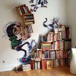 ダンボールを使って手作りする、ハイセンスな本棚のアイデア集のサムネイル画像