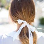 可愛らしいリボンモチーフは、長く使えるホワイトがおすすめのサムネイル画像