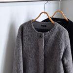 今年の冬はグレーのノーカラーコートで着回し上手になりませんか?のサムネイル画像