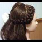 髪を可愛くおしゃれに裏編み込みでアレンジしてみませんか?のサムネイル画像