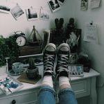 大人らしくスニーカーを履くならコンバースオールスターの黒!のサムネイル画像