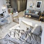 ワンルームでも快適生活が叶う!家具選びや配置のテクニックのサムネイル画像