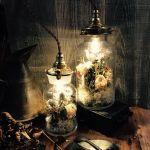 【お手軽DIY】温かな光に包まれて。ボトルランプをあなたのお部屋にのサムネイル画像