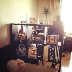 【広くても】間仕切り棚でお部屋の中にめりはりを【狭くても】のサムネイル画像