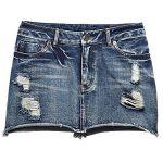 デニムのミニスカートで元気いっぱい!タイプ別の着こなしチェックのサムネイル画像