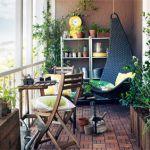 IKEAで実現!憧れの素敵なベランダ、絶対まねしたくなる実例20選!のサムネイル画像