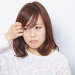 伸ばしかけの前髪を、可愛く巻き方アレンジで、秋らしく!!のサムネイル画像
