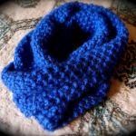 【青のマフラー】冬のコーデに欠かせないマフラー今年は青で決まり!のサムネイル画像