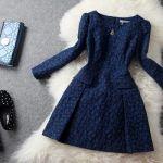 パーティドレスの着こなし方◎大人女子必見 冬の上品コーディネートのサムネイル画像