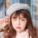 グレーのベレー帽が使える!中間色を上手にコーデに取り入れよう!のサムネイル画像
