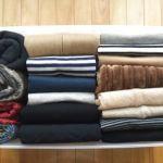 場所をとる【セーターの収納】お悩み解消策をご紹介します!のサムネイル画像