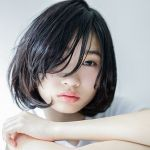 【王道シンプル♡やっぱり可愛い】黒髪×ボブが織りなす、最旬ヘアのサムネイル画像