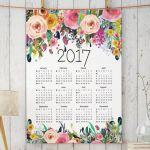 もう探し回らない!手作りカレンダーで新年を迎えるインテリア完結。のサムネイル画像