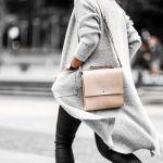 ノーカラーコートはグレーが可愛い!大人レディなコーデが魅力的のサムネイル画像