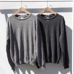 気まわし力No.1【グレーのセーター】脱・無難コーデでおしゃれに♡のサムネイル画像
