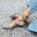 歩きやすいだけじゃない!『ぺたんこ靴』がコーデを格上げ♡のサムネイル画像