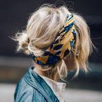 今注目の【頭にスカーフ】!おしゃれな巻き方アイデア満載!のサムネイル画像