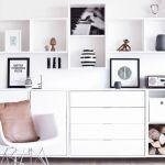 【参考にしたい!】かわいいリビングの壁面収納アイデアまとめ♡のサムネイル画像