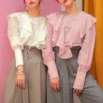 【今年はより大胆に進化!】フリル&ボリューム袖で、思いっきりフェミニンな春♡のサムネイル画像