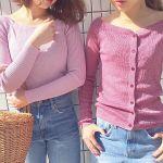 大人の春ピンクLesson♡《濃ピンク》はキレイめに、《淡ピンク》はカジュアルに着るのサムネイル画像
