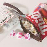 """SNSで話題♡""""お菓子の袋""""を捨てずに「#お菓子ポーチ」リメイク♡のサムネイル画像"""