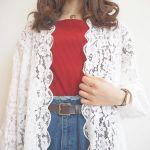 春服不足さん注目!眠っていた夏服と《レースガウン》で春コーデ♡のサムネイル画像