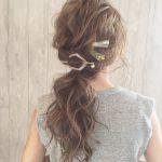 巻かない&編まずにOK♡《マジェステとヘアピン》で作るラクかわヘアのサムネイル画像