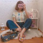 《ポップコーントップス》で夏のコーデはレトロかわいく♡のサムネイル画像
