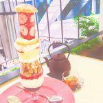 巨大パフェが話題《サロンベイクアンドティー》をカフェ巡りに追加♡のサムネイル画像