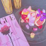 花びらとイチゴに包まれた♡《天使のシフォンケーキ》が気になる!のサムネイル画像