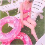 皆の視線を独り占め♡《リボンビキニ》がお目立ちガーリーで可愛い!のサムネイル画像