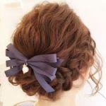 ボブヘア髪の毛アレンジ☆結婚式や二次会、パーティにおすすめ☆のサムネイル画像