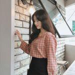 秋コーデに必須♡韓国3大通販ブランド注目《チェック柄アイテム》!のサムネイル画像