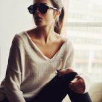 ALL 5,000円以下!今年顔のコーデになれちゃうVネックセーター♡のサムネイル画像