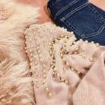 縫いつけるだけでオシャレ感プラス♡《パール》付きアイテムが熱い!のサムネイル画像