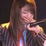 柏木由紀が突然ライブで大号泣!!が、ファンからは同情の声なし!?のサムネイル画像